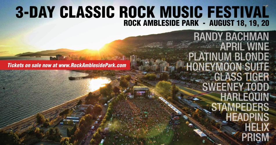 Ambleside Classic Rock Music Festival West Vancouver