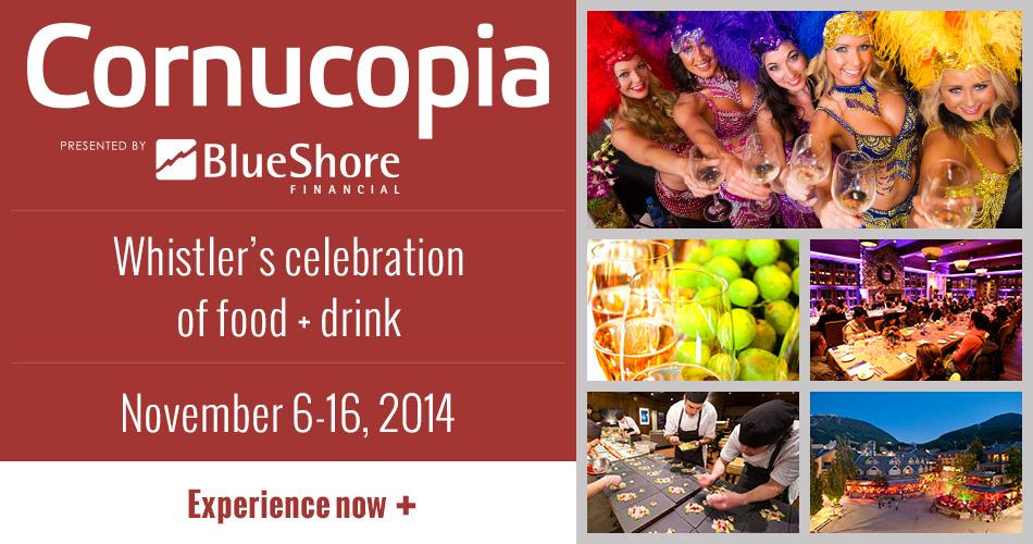 Corucopia Whistler Wine Festival Event 2014