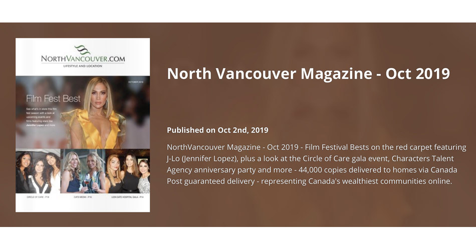 North Vancouver Magazine latest issue