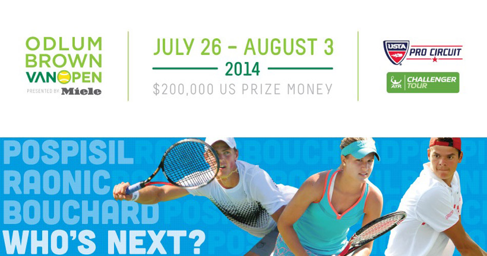 Vancouver Open Tennis Tournament 2014