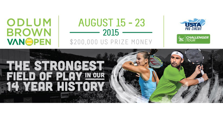 Vancouver Open Tennis in West Vancouver
