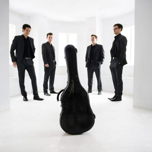 Canadian Guitar Quartet at the Kay Meek Centre West Vancouver