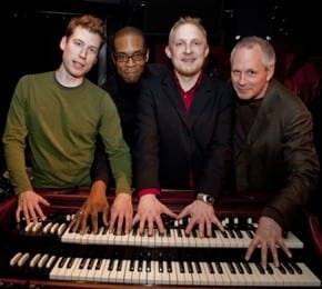 Funky Festive Jazz Quartet B3 Kings Christmas Concert at Federico's Supper Club Vancouver