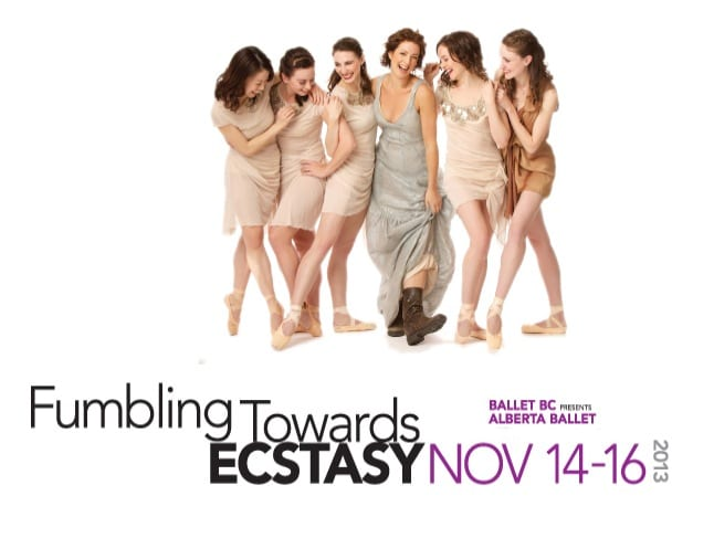 Ballet BC Presents Sarah McLachlan Fumbling Towards Ecstasy