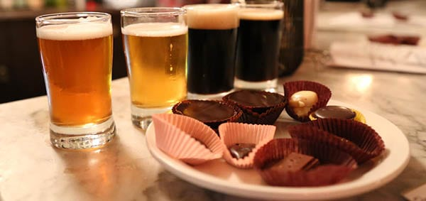 Chocolate and Beer Pairings for Charity: A Benefit for the Parkinson Society of BC