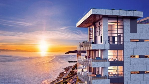 West Vancouver Luxury Condo by Cressey