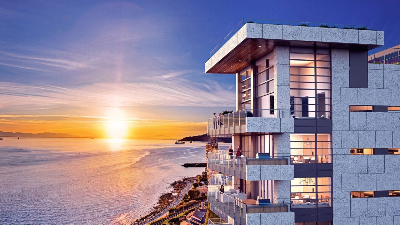 West Vancouver Bellevue Luxury Condos by Cressey Development