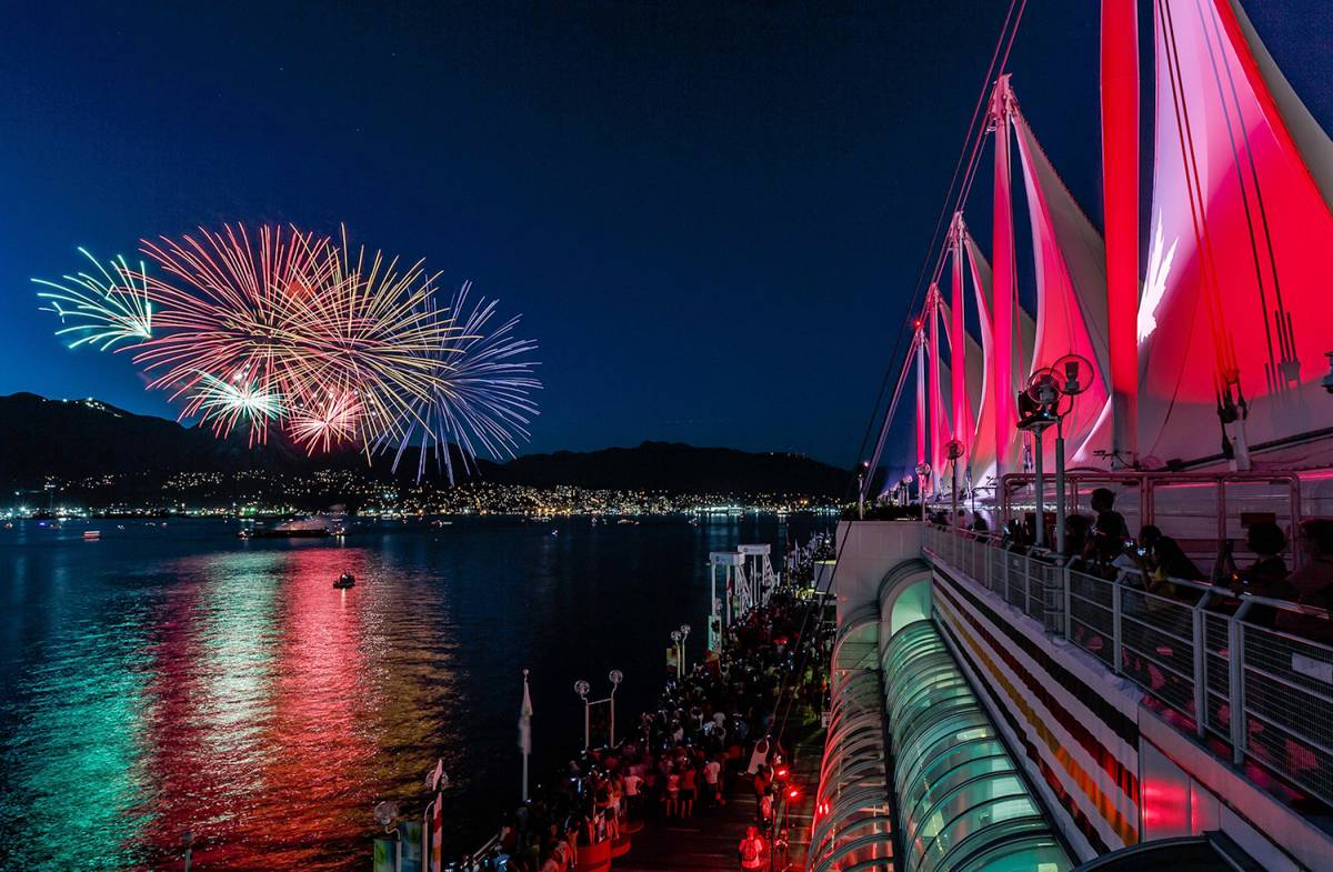 Canada Day 2018 Celebrations at Canada Place