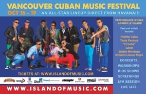 Vancouver Cuban Music Festival at Granville Island