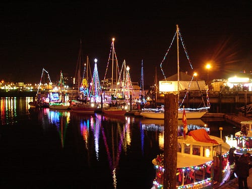 2014 Carol Ships – Parade of Lights in West Vancouver