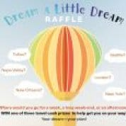 Dream a Little Dream Travel Raffle at the Kay Meek Centre West Vancouver