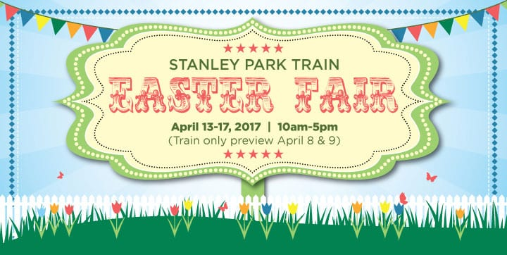 Railway Easter Train at Stanley Park Vancouver