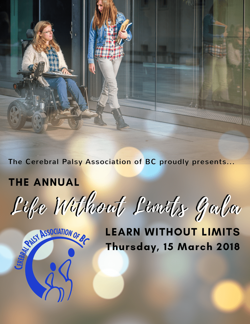 The Annual Life Without Limits Gala 2018 at the Sheraton Wall Centre Vancouver