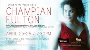 Cory Weeds' Cellar Jazz Club presents Champian Fulton