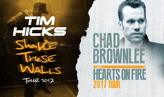 Tim Hicks Performs with Chad Brownlee at The Commodore Ballroom Vancouver