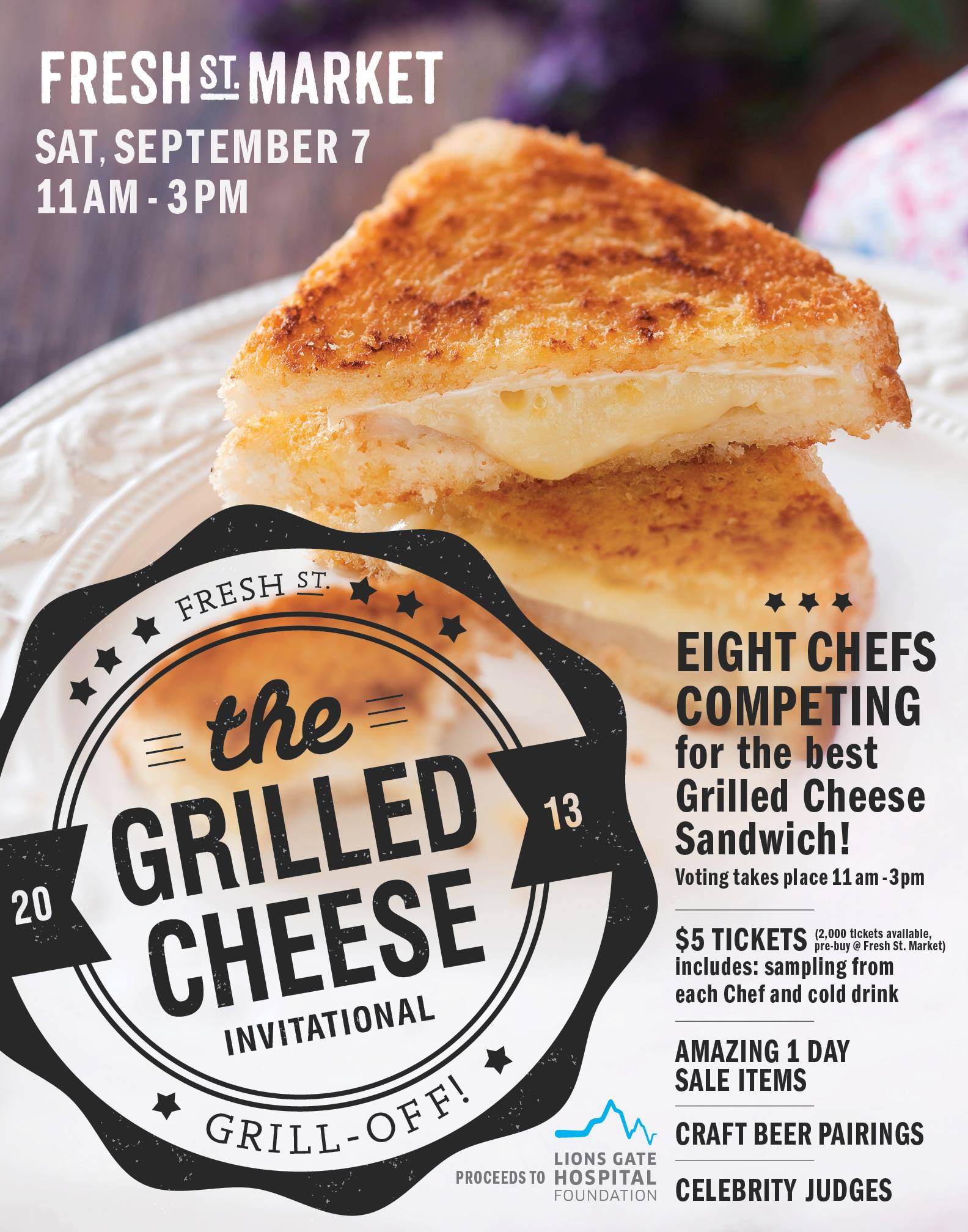 Grilled Cheese Competition