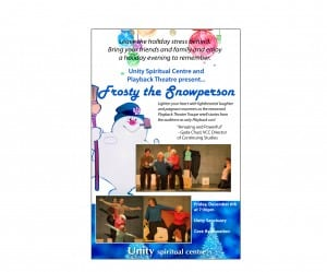 Frosty The Snowperson Improv by Renowned Playback Theatre