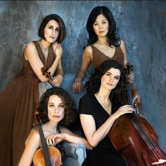 Cecilia String Quartet at the Kay Meek Centre West Vancouver