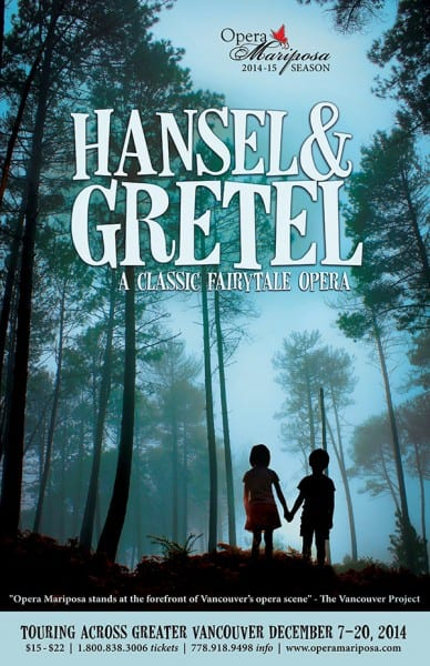 Hansel and Gretel at the Vancouver Academy of Music – Mary Olson Hall