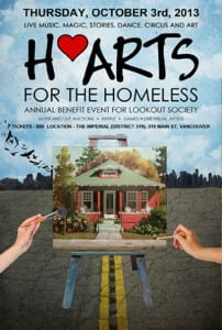 H'Arts for the Homeless 5th Annual Gala