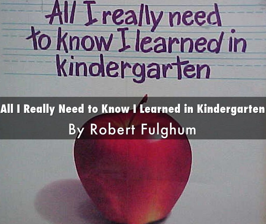 Kay Meek Centre presents All I Really Need to Know I Learned in Kindergarten