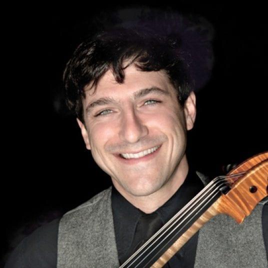 Cellist Ariel Barnes at the Gleneagles Community Centre West Vancouver
