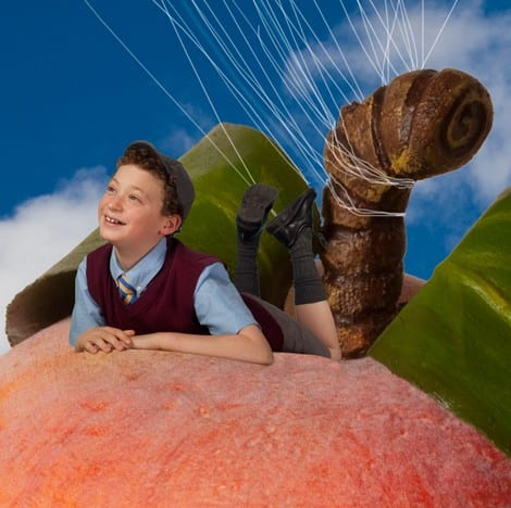James and the  Giant Peach at the Waterfront Theatre Vancouver