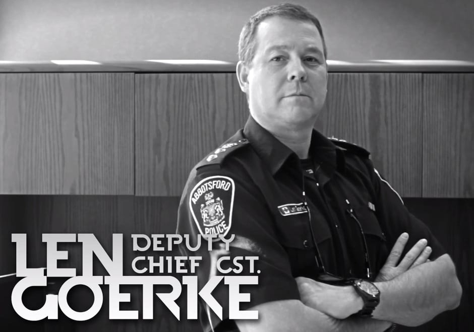 Len Goerke is New West Vancouver Police Chief