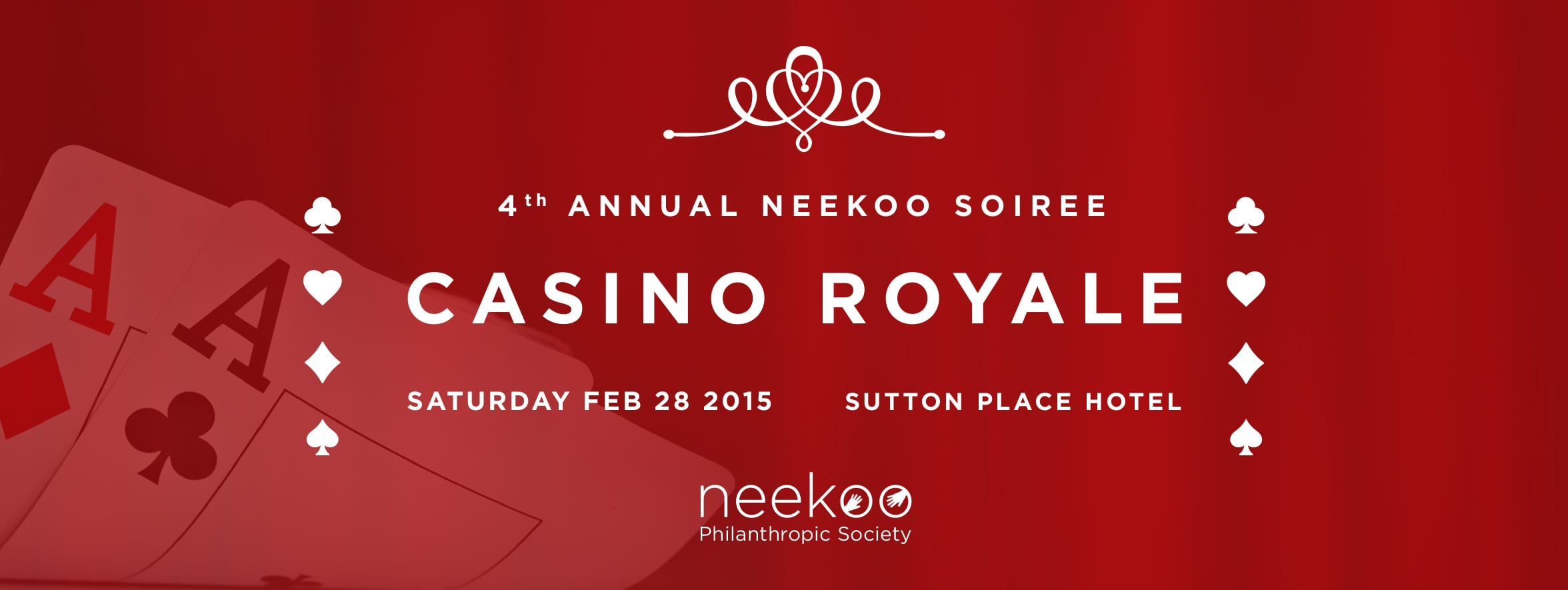 Neekoo Charity Gala at the Sutton Place Hotel Vancouver