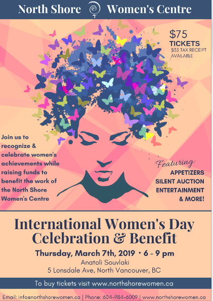 International Women's Day Celebration and Benefit