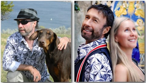Paul Rodgers and wife Cynthia with their animal at home and as founding members of the Willows Animal Sanctuary.