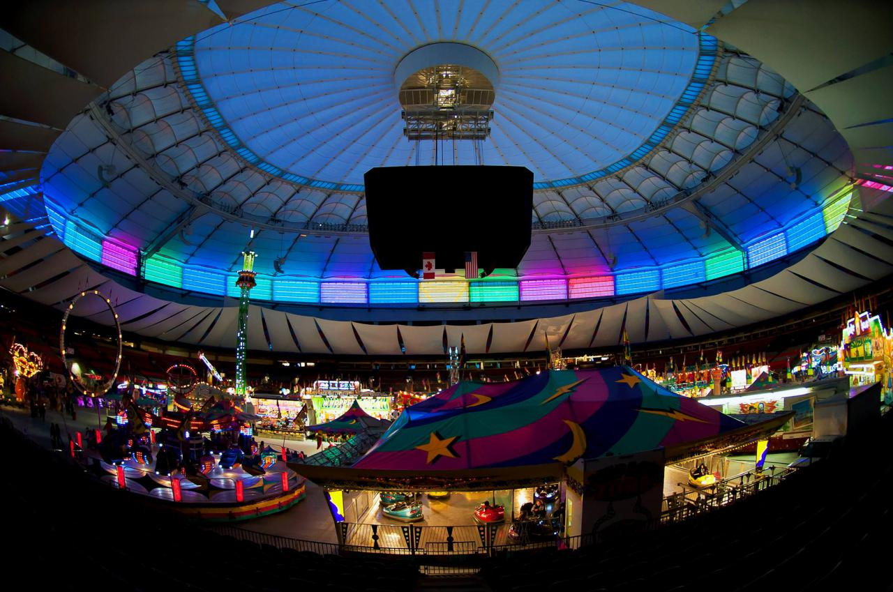 Playdome Returns to BC Place Vancouver
