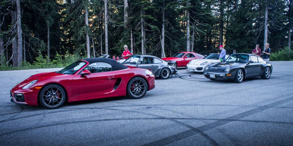 Dundarave Porsche Show and Ride 2018 West Vancouver