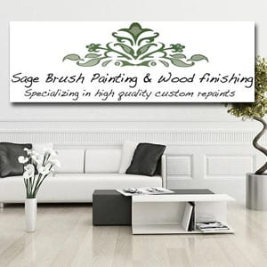 Sage Brush Painting