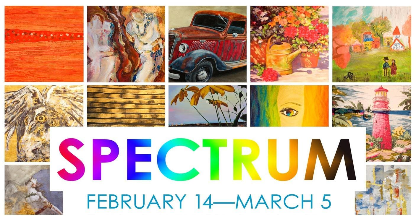 Spectrum an Exhibition at the Silk Purse Art Gallery West Vancouver