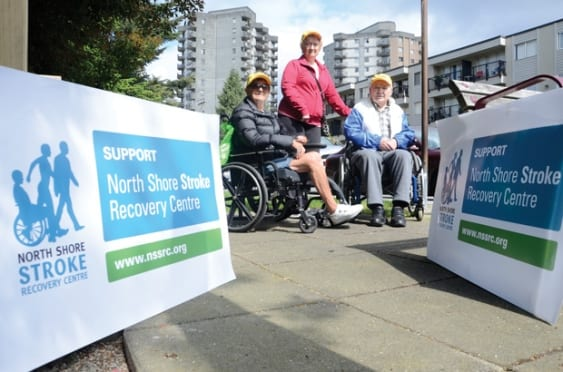 2015 North Shore Stride for Strokes at John Lawson Park West Vancouver