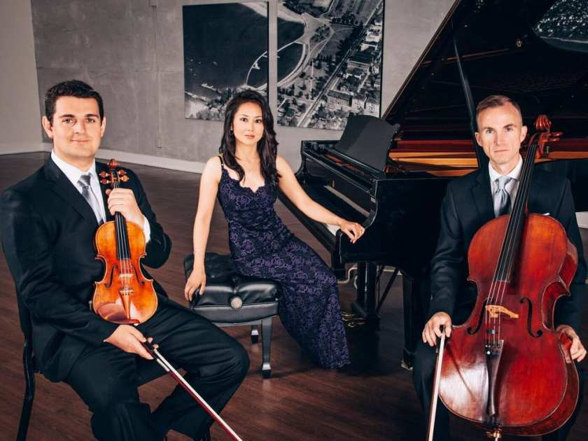 Friday Night Concert – The Koerner Piano Trio at the West Vancouver Memorial Library