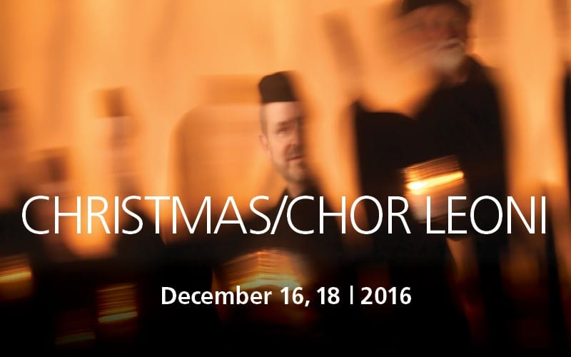 Christmas/Chor Leoni at the West Vancouver United Church