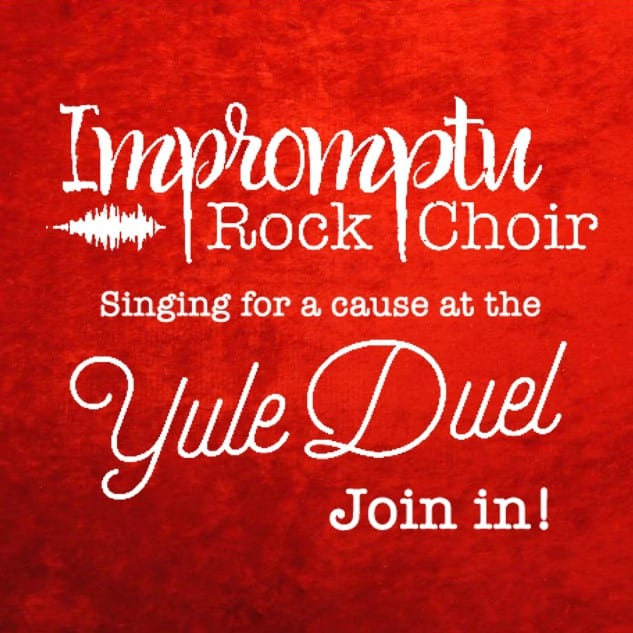 Sing For A Cause… Yule Duel Songs To Support May's Place DTES Hospice! at the Presentation House Theatre North Vancouver