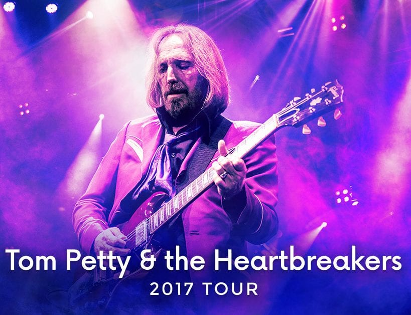 Tom Petty and The Heartbreakers at Rogers Arena Vancouver