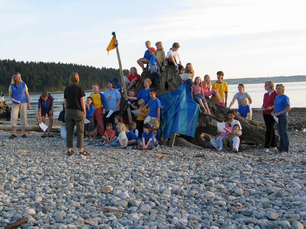 Swedish Valborg Celebration at Ambleside Park West Vancouver